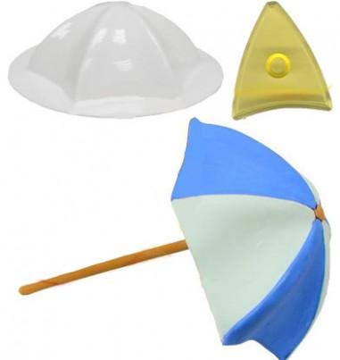 Molde paraguas o sombrilla