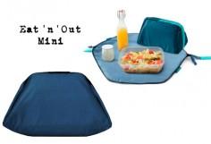 Bolsa portalimentos Eat'n'Out Mini Squares azul
