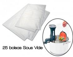 Bolsas cocina al vacío Sous Vide Lacor