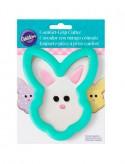 Molde galleta cara conejo de Pascua