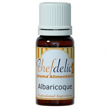 Esencia de albaricoque 10ml Chef Delice
