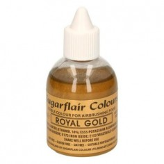 Colorante alimentario para aerógrafo Royal Gold Sugairflair