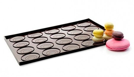 Tapete de macarons y whoopies de silicona Ibili