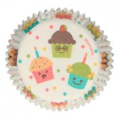 Pack 48 bases para cupcake Party Cupcakes Funcakes