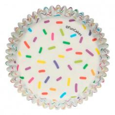 Pack 48 bases para cupcake Sprinkles Funcakes