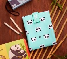 Boc n roll Animals Panda: porta bocadillos reutilizable - Casa Rex