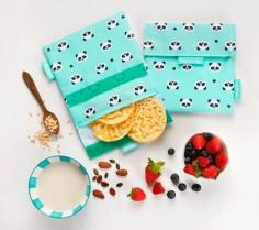 Snack'n'go Animals Panda: porta meriendas reutilizable
