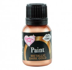 Pintura comestible dorada Dark Gold RainbowDust