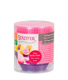 Pack 200 mini bases para cupcake color Stadter