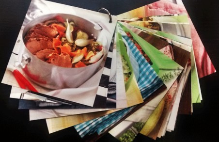 Libro fichas 20 recetas plato único Lékué