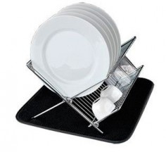 Dish Drying Vichy negro Duett