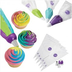 Set 9 piezas Color Swirl Wilton
