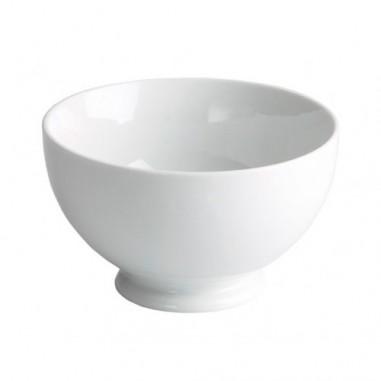 Bol con pie porcelana