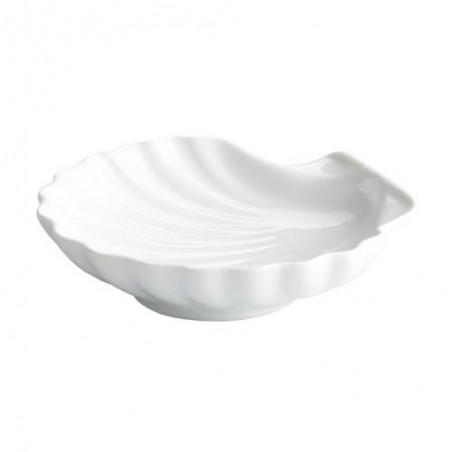 Concha porcelana blanca
