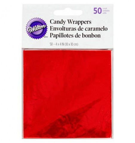 Pack 50 papeles metálicos Wilton