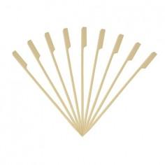 Pack 50 pinchos bambú 20cm