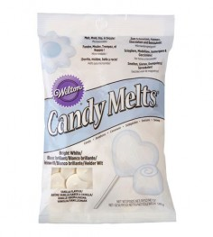 CandyMelts Blanco brillante 340gr Wilton