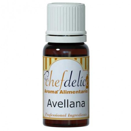 Esencia de avellana 10ml Chef Delice