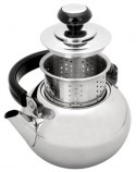 Cafetera pava con filtro 1,5L Inox.